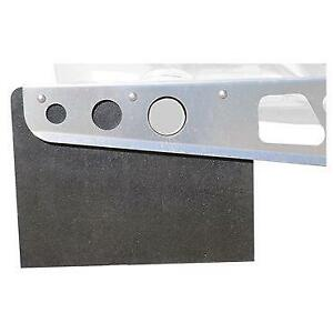 Smooth Mill Mudflap Universal Mount