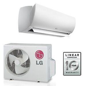 Gree & LG mini split heat pumps