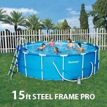 Above Ground Swimming Pool 457cm x 122cm 56100 15ft Wolli Creek Rockdale Area Preview