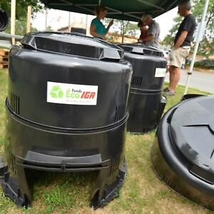 Composteur distribué par Jour de la Terre et IGA  NEUF