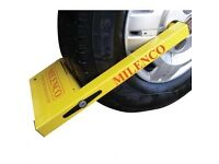 "MILENCO COMPACT WHEEL CLAMP (12""-16"")"