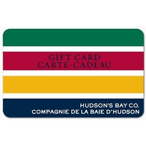 HBC Gift Card $300 value for $250