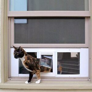 Cat flap - removable, no cutting doors or windows! Lilyfield Leichhardt Area Preview