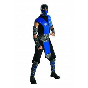 Sub Zero Mortal Kombat Costume Med/Large Adult Official