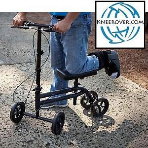 NEW KNEEROVER KNEE SCOOTER KW-07 203972222 ECONOMY STEERABLE  KNEE WALKER MEDICAL CRUTCH BLACK