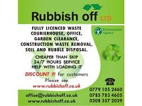 Rubbish clearance, removal, waste disposal, garden service,fence installation,building a shed