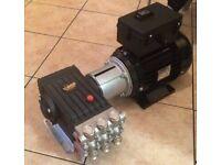 WS201 Interpump Pump Solid Shaft & Motor Pressure Washer - New