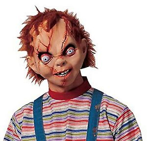 Chucky mask. Child's Play, Seed/Cult/ Curse/Bride of Chucky