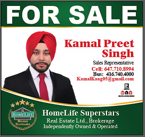 Looking for a realtor? Your search ends here! Kamal Preet Singh
