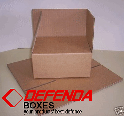 BEST VALUE CARDBOARD POSTAL BOXES. ALL SIZES MADE FRIB
