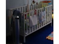 Mothercare cot and anti allergy mattress