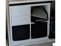 IKEA Shelving unit KALLAX white