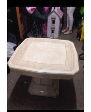 Italian Marble Look Side Table Cost £250