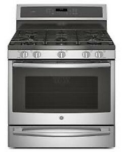 GE Profile NEW free standing gas range PRICE $1499