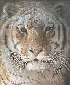 "Robert Bateman Print ""Tiger at Dusk"" $75 O.B.O"