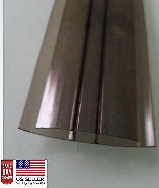 6 Long Pac Of 2 8mm Polycarbonate Bronze H Connectors