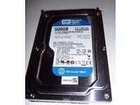HDD 500GB (Western Digital WD5000YS SATA)