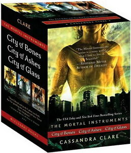 The Mortal Instruments Boxed Set: City of Bones; City of Ashes;