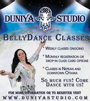 Beginner Belly Dance in Ottawa with Jehane - Duniya Studio