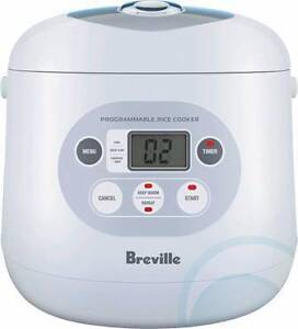 Breville Rice Cooker BRC450 (Barely Used) Burwood Burwood Area Preview