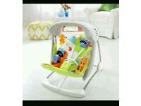 Fisher price foldable swing only 3 months old!