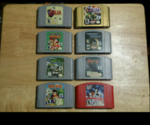 N64 Games - Prices in Description