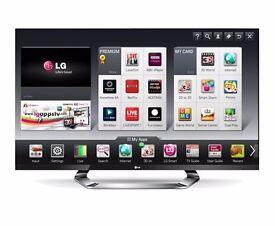 "* LG, 47"" LED CINEMA 3D Smart TV"