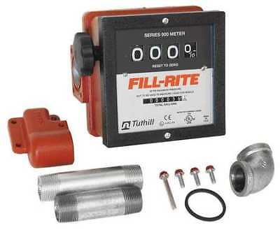 Fill-rite 901cmk4200 4-wheel Mechanical Meter1 Fnpt6-40 Gpm