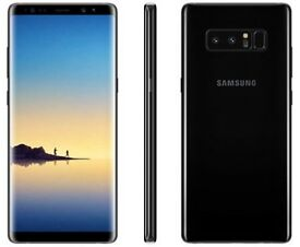Samsung Note 8 Black 64GB Brand New Condition Boxed Unlocked UK Warranty! (Dual Sim)