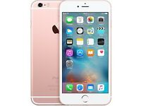 Apple iPhone 6S Rose Gold Unlocked 16gb Like New Boxed Fully Working