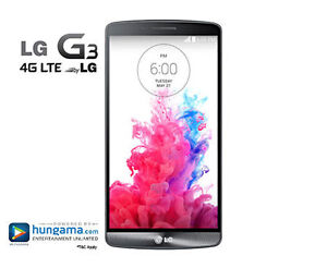 LG G3 32GB / Bell / New Screen