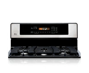LG stainless steel Gas range Cambridge Kitchener Area image 1