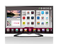 "LG 42""SMART TV WITH BUILT IN WI-FI AND FREEVIEW HD. MAGIC REMOTE INCLUDED"