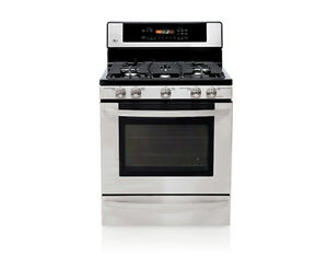 LG stainless steel Gas range Cambridge Kitchener Area image 3