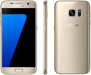 THE CELL SHOP has a Samsung S7 Gold Unlocked to all providers including Freedom Mobile