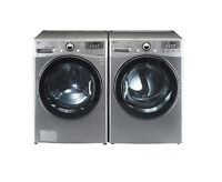 GE/LG FRONT LOAD STACKABLE WASHER/DRYER SETS!!--WHAT A DEAL!!