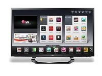 LG 32LM620T LED HD 1080p 3D Smart TV, 32 Inch with Freeview HD and 4x 3D Glasses - PERFECT CONDITION