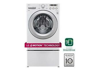 LG  WM3050CW 4.6 cu. ft. Ultra Large Capacity Front Load Washer with ColdWash White