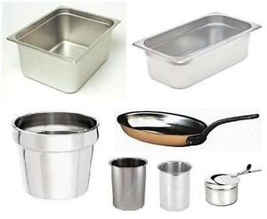 RESTAURANT/CATERING ITEMS - Hotel Pans, Pans, Swiss Copper
