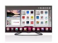 LG 55 inch 3D Smart TV Like New, Model LG 55LA620V