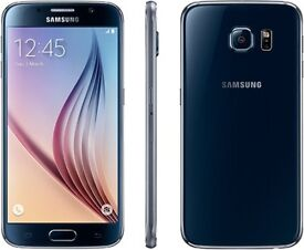 Samsung S6 32GB Black Unlocked Mint Condition with Warranty!