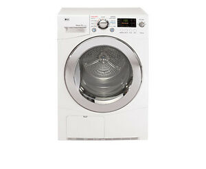 LG DLEC855W 4.2 cf Ventless Electric Dryer