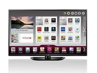 Lg 50 inch full hd 600hz 3D smart plasma Tv freeview feeesat hd
