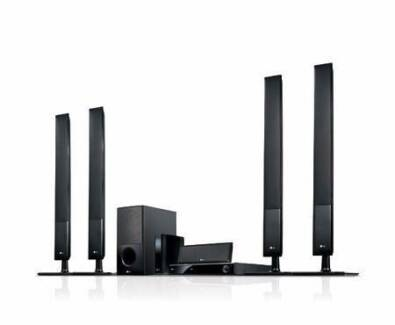 LG 3D Blu-Ray Home Theatre System with 850W Total Power Output