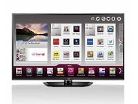 Lg 50 inch full hd smart wifi freeview freesat plasma tv bargain excellent condition