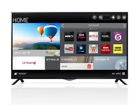 """42"""" LG 4K Smart TV with WiFi/Freeview/FreeSat - BOXED"""