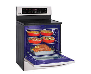 brand NEW Lg Electric Range InfraRed Grill convection Cuisiniere