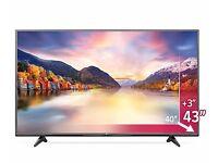 "43 INCH LG 43UF680V Smart Ultra HD 4k 43"" LED TV wifi freeview HD"