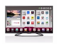 LG 42 INCH SMART TV, 3D WITH 5 GLASSES WIRELESS INTERNET,IPTV,LOADS OF APPS AND CAN ADD MORE