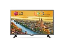 """Brand new LG 32"""" full HD LED TV with Freeview and usb media player"""